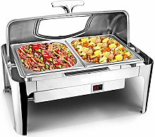 Catering Food Warmer Chafing Dish, 9L Buffet