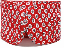 Cath Kidston double oven glove lace hearts red