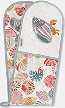 Cath Kidston double oven glove seaside shells cream