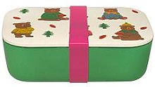 Cath Kidston Woodland Bear Bamboo Lunch Box