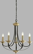 Cathcart 5-Light Candle Style Chandelier Astoria