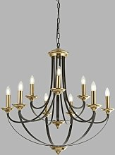 Cathcart 9-Light Candle Style Chandelier Astoria
