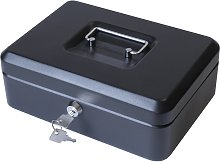 Cathedral 8 Inch Cash Box - Black
