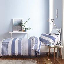 Catherine Lansfield Blue Newquay Stripe Bedding