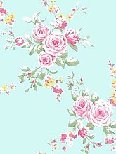 Catherine Lansfield Canterbury Floral Wallpaper