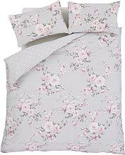 Catherine Lansfield Canterbury Grey Bedding Set -