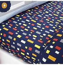 Catherine Lansfield Construction Single Fitted Sheet