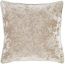 Catherine Lansfield Crushed Velvet Cushion