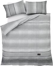 Catherine Lansfield Denim Grey Bedding Set -