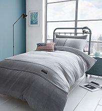 Catherine Lansfield Denim Grey Bedding Set - Single