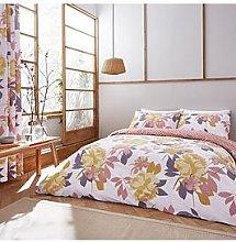 Catherine Lansfield Elina Floral Duvet Cover Set