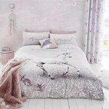Catherine Lansfield Enchanted Unicorn Bedding Set