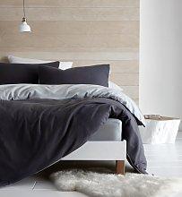 Catherine Lansfield Grey So Soft Fleece Bedding