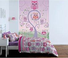 Catherine Lansfield Kids Owl Wallpaper Wall Hanging
