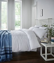 Catherine Lansfield Minimalist White Bedding Set -