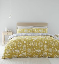 Catherine Lansfield Retro Birds Easycare Bedding