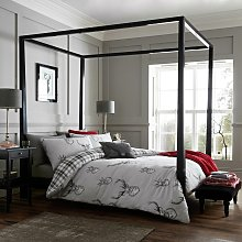 Catherine Lansfield Silver Stag Bedding Set -