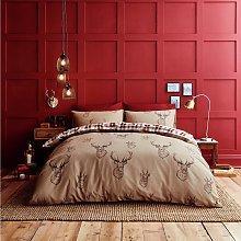Catherine Lansfield Stag Bedding Set - Double