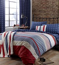 Catherine Lansfield Stars and Stripes Bedding Set