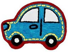 Catherine Lansfield Transport Car-Shaped Rug