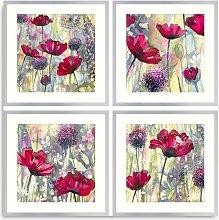 Catherine Stephenson - Poppy Field Framed Print &