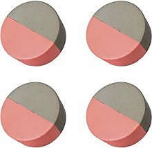 CatInAFishTank Concrete Drawer Knobs 4 Pieces,
