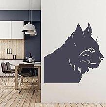 Cats Head Wall Decal Animal Pets Shop Kids Room