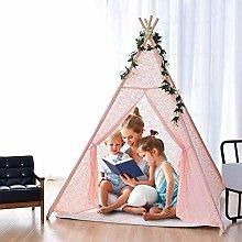CattleBie Kids Teepee Play Tent - Indian Wigwam