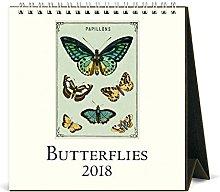 Cavallini Papers & Co. 2018 Butterflies Desk