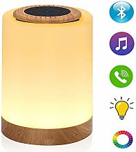 Caxmtu Color Night Light with Bluetooth Speaker,