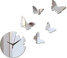 cbvdalodfej wall clock safehome decor diy crystal