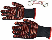 CCCLLL Barbecue gloves, high temperature resistant