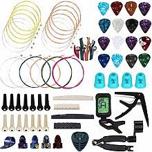 CCCYMM 66 Pcs Guitar Accessories Kit Including
