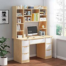 CClz Multifunction Writing Desk With Shelf 6