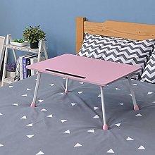 Ccomputer Desk for Bed,Laptop Desk with Foldable