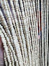 CDDQ 100×200cm/39″×79″ Wooden Beaded Curtain