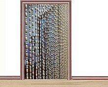 CDDQ 50 Strands Wood Beaded Curtains String Bead