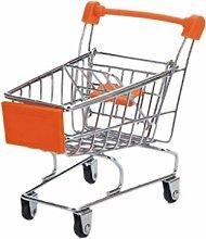 cdhgsh Mini Supermarket Hand Trolley Shopping