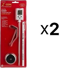 CDN 2 Count DTC450 Digital Candy Thermometer Set
