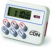 CDN Multi Task Digital Kitchen Timer and Clock