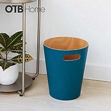 CDXZRZYH Recycling Bin Home Storage Bucket Wood