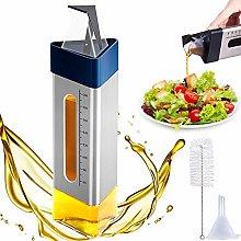 Cdycam Olive Oil and Vinegar Dispenser Bottle for