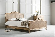 Cecilia Chic Cane King Bed Frame Lily Manor