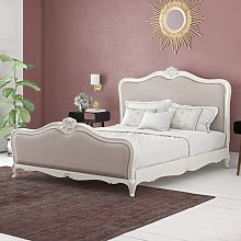 Cecilia King (5') Upholstered Bed Frame Lily