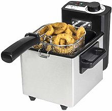 Cecotec CleanFry Stainless Steel Deep Fryer 1.5 L