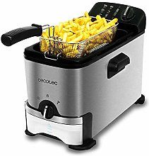 Cecotec V1704755 Deep Fryer, Black