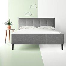 Cedeno Upholstered Bed Frame Hashtag Home