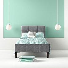 Cedillo Upholstered Bed Frame Hashtag Home