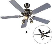 Ceiling fan gray - Mistral 42