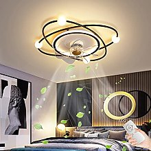 Ceiling Fan Light with Remote Control LED Dimmable
